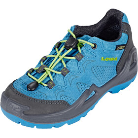 Lowa Diego GTX Low Shoes Kids blue/lime